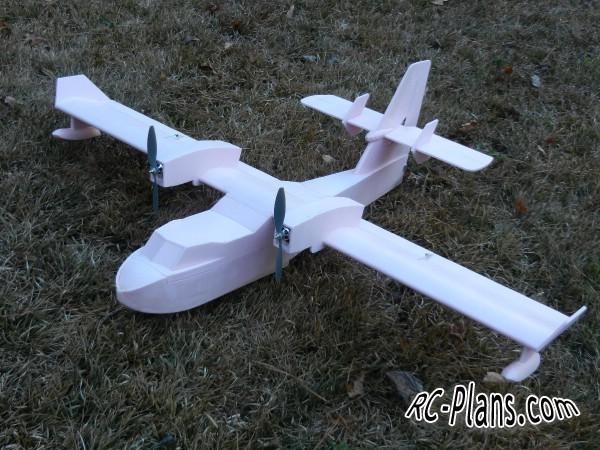 free rc plane plans pdf download - rc hydroplane Canadair CL-415