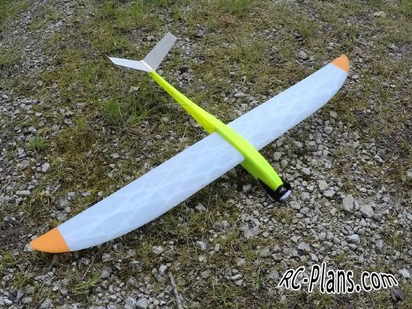 free 3d printed rc plane files - rc airplane Caracara