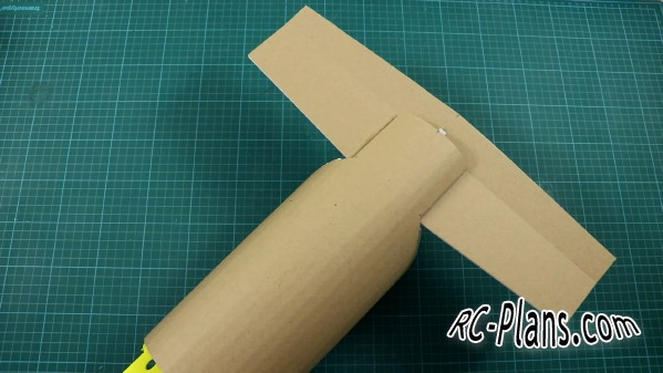 free rc plane plans pdf download - DIY simple foam cargo RC airplane