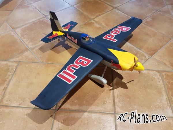 free rc plane plans pdf download - rc airplane Edge 540 1200mm