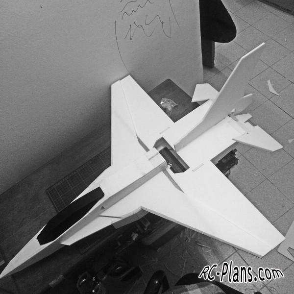 free rc plane plans pdf download - rc airplane F-16 MJ