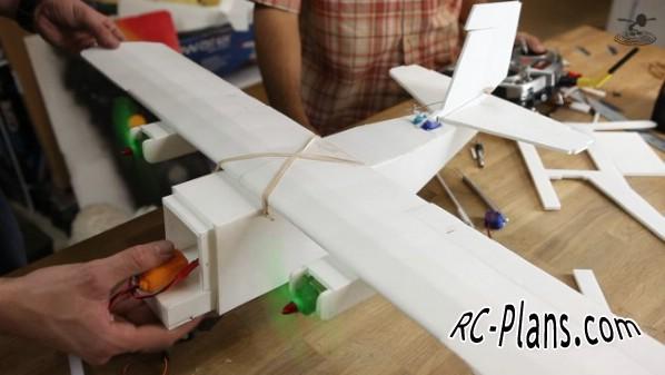 free rc plane plans pdf download - rc airplane FT Mini Guinea