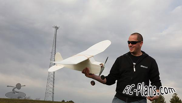 free rc plane plans pdf download - rc airplane FT Old Fogey Swappable