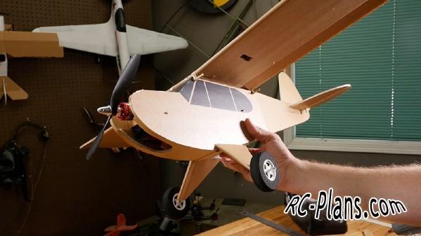 free rc plane plans pdf download - rc airplane FT Simple Cub