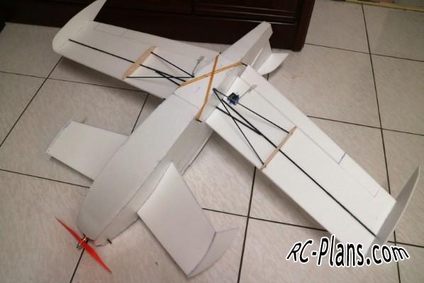 free rc plane plans pdf download - rc airplane Fantastic Canard