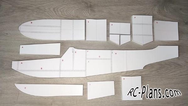 free rc plane plans pdf download - rc hydroplane Grumman Goose