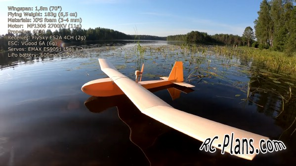free rc plane plans pdf download - foam rc hydroplane Hydro Slow Flyer