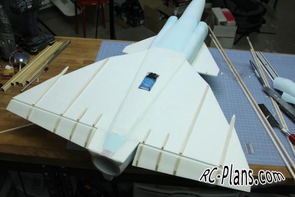 free rc plane plans pdf download - rc airplane JA-37 Viggen