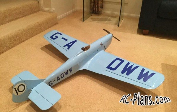 free rc plane plans pdf download - balsa rc airplane Miles Sparrowhawk M5