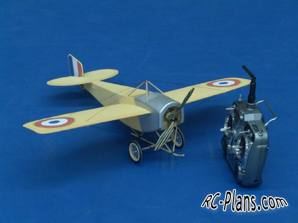 free rc plane plans pdf download - scale rc airplane Nieuport Oldtimer