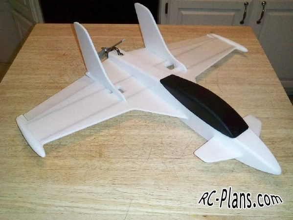 free rc plane plans pdf download - foam rc airplane Prime Jet 8