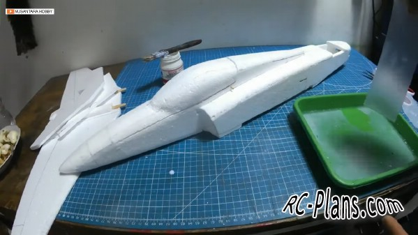 free rc plane plans pdf download - rc airplane Super Bandit