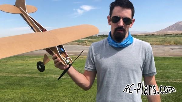 free rc plane plans pdf download - DIY simple foam RC airplane