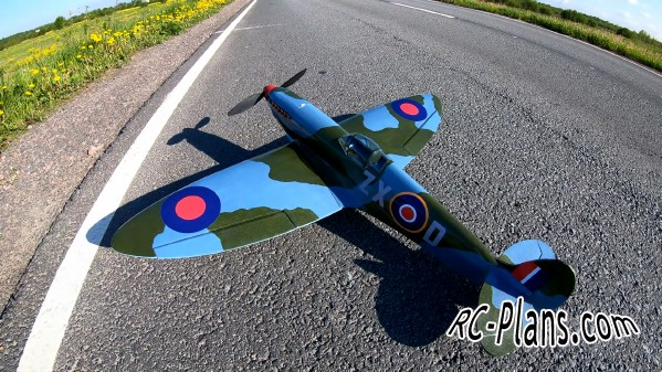 free rc plane plans pdf download - rc airplane Supermarine Spitfire