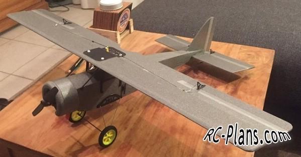 free rc plane plans pdf download - balsa rc airplane Svensons The Duke Depron