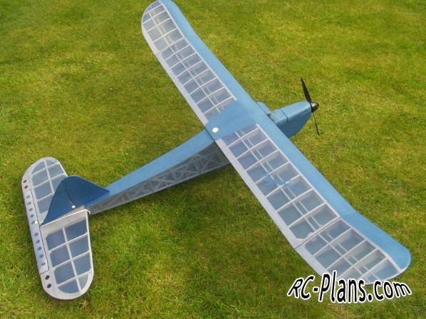 free rc plane plans pdf download - balsa rc airplane Vagabond
