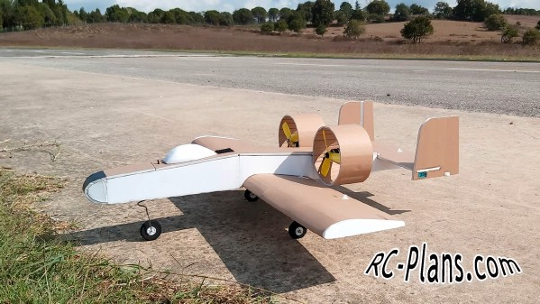 free rc plane plans pdf download - rc airplane A10 thunderbolt