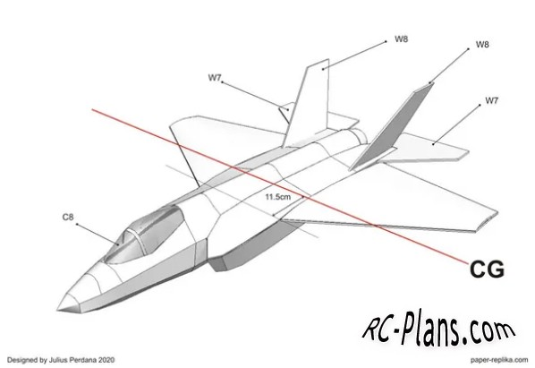 free rc plane plans pdf download - scale rc airplane F-35C Lightning II