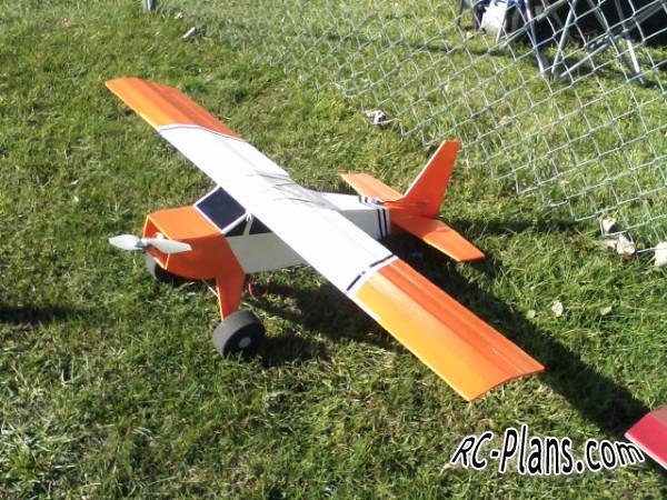 free rc plane plans pdf download - rc airplane FT Bushwacker