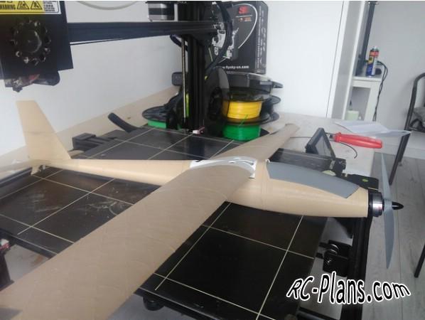 free 3d printed rc plane files - RC Glider