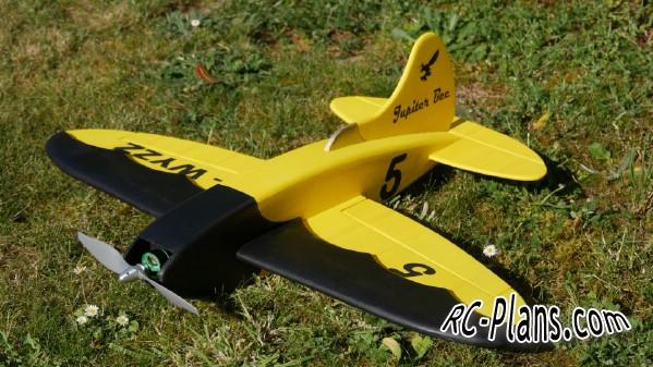 free rc plane plans pdf download - scale rc airplane Jupiter Bee