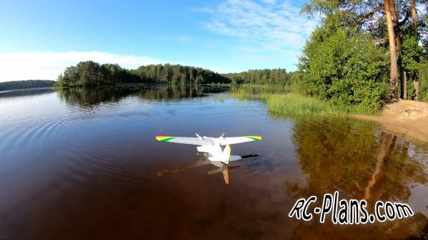 free rc plane plans pdf download - rc airplane Lake Clipper