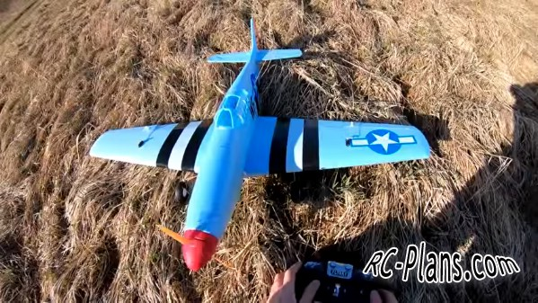 free rc plane plans pdf download - rc airplane P-51D Mustang