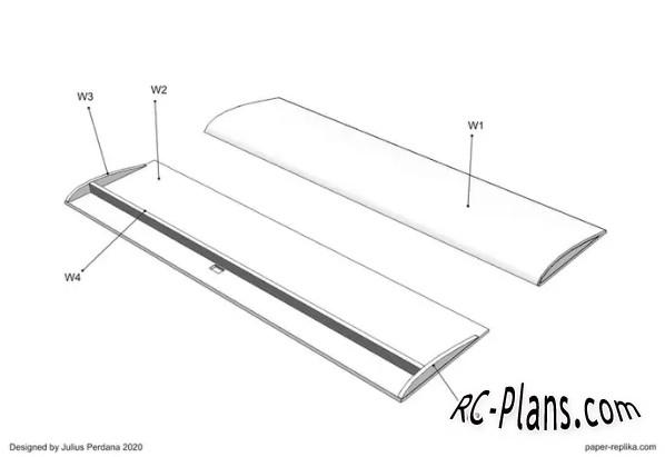 free rc plane plans pdf download - rc airplane Sky Arrow