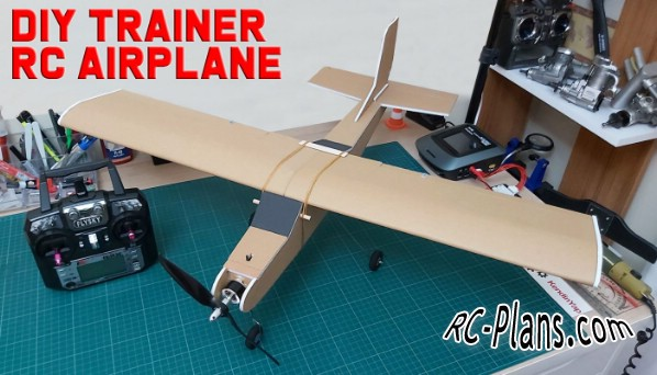 free rc plane plans pdf download - rc airplane Traner KendinYap