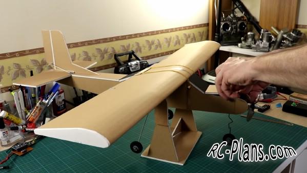 free rc plane plans pdf download - rc airplane Traner KendinYap