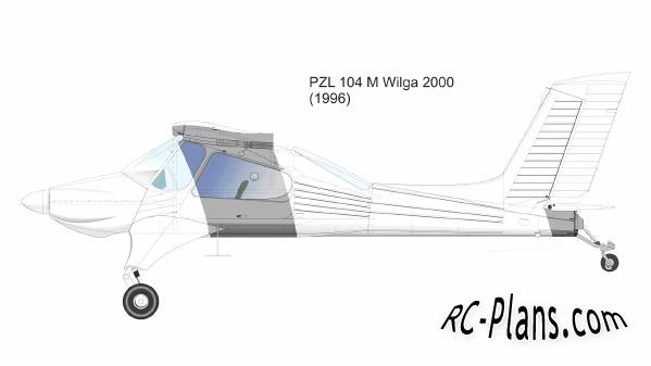 free rc plane plans pdf download - rc airplane Wilga 2000 PZL-104