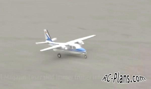 Plans RC Airplane Aero Commander