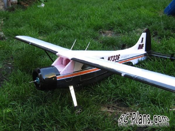 Plans rc model Beaver DHC-2 parkflyer