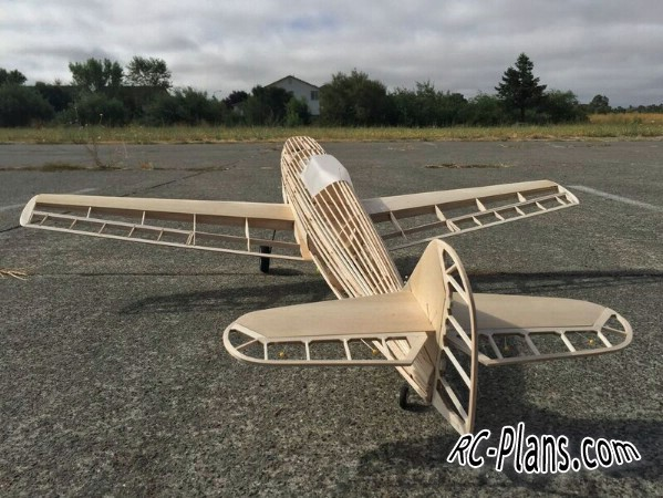 plans for rc airplane Messerschmitt Bf.109
