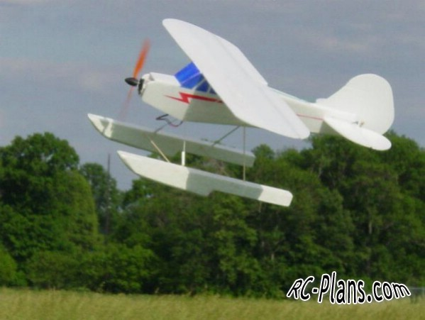 Free plans RC airplane BluCub