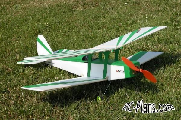 free plans for rc biplane