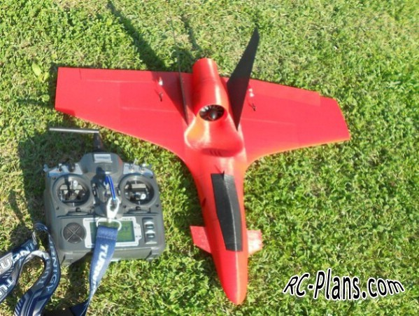 3d printed JET RC airplane