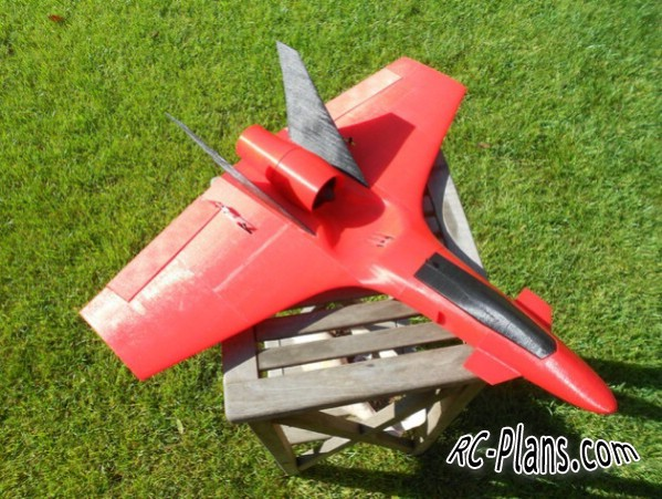 plans for 3d printed JET RC airplane