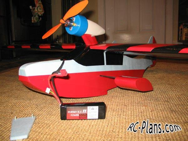 Free Plans RC airplane Drake seaplane