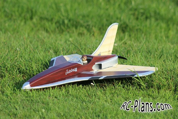plans for rc model Jetstream