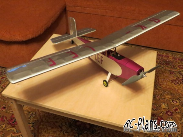 plans rc airplane Letov S.239 (scale)