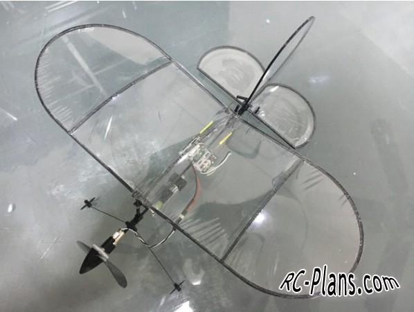 3d printed rc plane Micro Vapor RC Plane