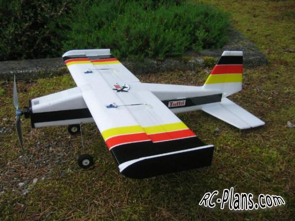 plans rc airplane Trottel