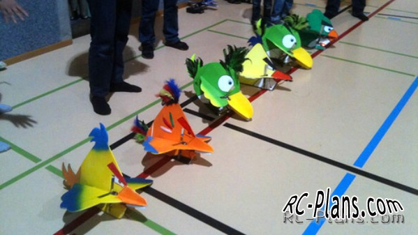 Angry Birds RC model plans