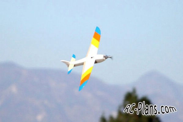 free plans for RC airplane BabyShark