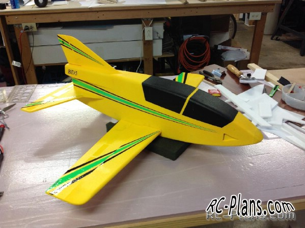 rc plans bd-5 pusher