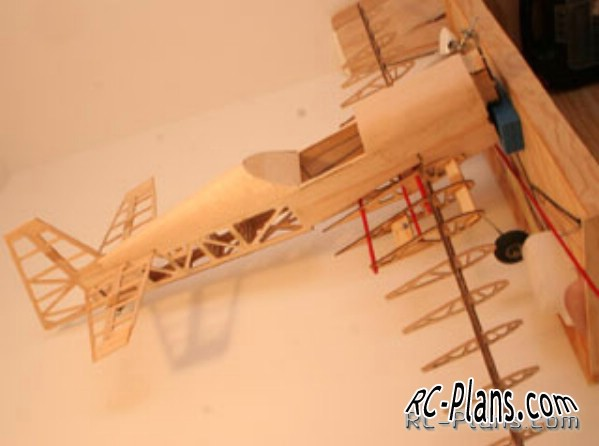 Plans Balsa RC airplane CAP 232 40