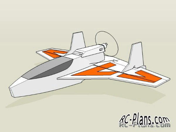 plans rc airplane drongo