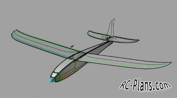 plans of rc model easy glider