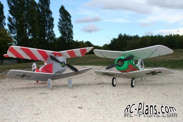 free plans rc biplanes